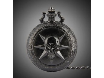 Collection Exquisite Skull Pocket Watch