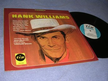 Hank Williams - Hank Williams (LP) Scandinavia 1976 NM/NM