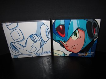 Mega Man/Rockman 1~6 och X1~X6 Soundtracks Musik CD Nyskick!