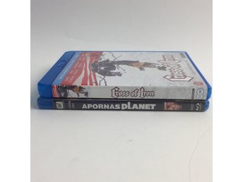 Blu-Ray Disc, DVD-Filmer, Apornas Planet & Cross of iron