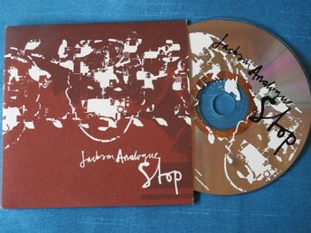 Jackson Analogue - Stop CD Singel (Pappfodral) PROMO 2005