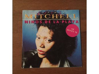 "LIZZ MITCHELL - NINOS DE LA PLAYA. (NEAR MINT 7"")"