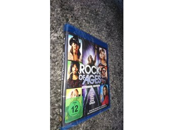 Blu-ray Rock of ages Tom Cruise Malin Åkerman Alec Baldwin Inplastad