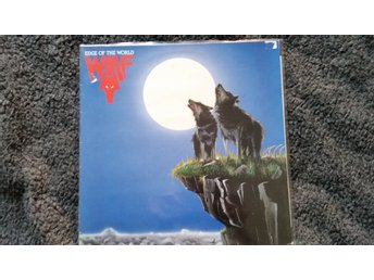 Wolf Edge of the world LP 80.s heavy metal Super Rare 1984