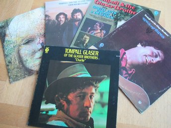 TOMPALL & THE GLASER BROTHERS **Paket med 8 st LP-skivor!!**