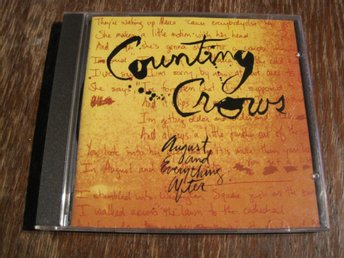 COUNTING CROWS - AUGUST AND EVERYTHING AFTER, CD