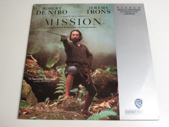 THE MISSION (Laserdisc) Robert De Niro