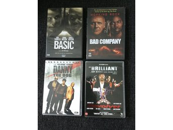 Basic ~ Bad company ~ Revolver ~ Danny the dog  DVD 4 st Action
