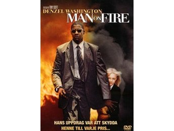 MAN ON FIRE - NY/INPLASTAD  DVD