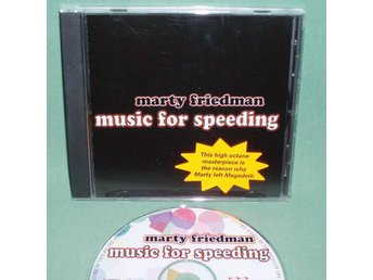 FRIEDMAN  MARTY - Music for speeding , CD 2003 , ex Megadeth ,