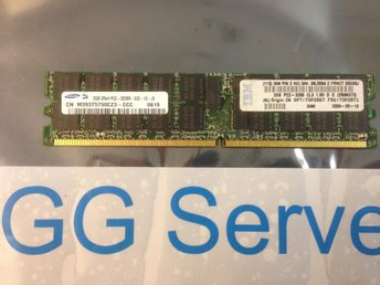IBM 4GB kit 2x2GB PC2-3200 ECC 73P2867