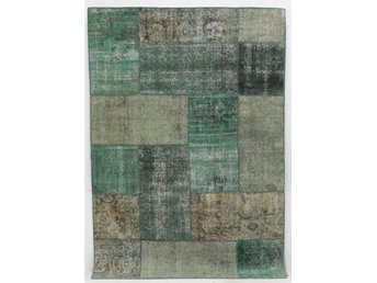 Carpet patchwork, ca 240x168 cm