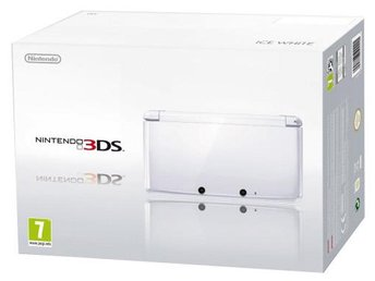 Nintendo 3DS Basenhet - Ice White - Nintendo 3DS