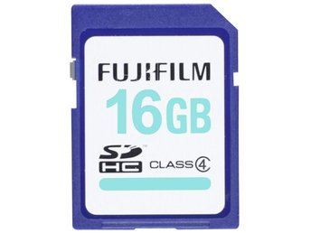 Fujifilm 16GB SDHC Card High Quality / Class 4