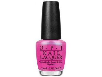 OPI Nail Lacquer Hotter Than You Pink 15ml