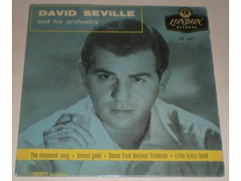 David Seville OMSLAG EP The chipmunk song 1959