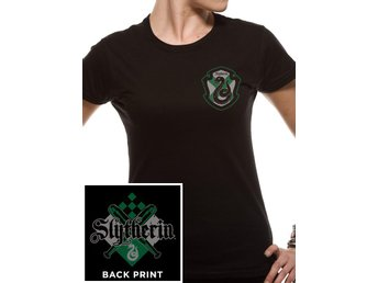 HARRY POTTER - HOUSE SLYTHERIN  (FITTED T-Shirt ) - X-Large