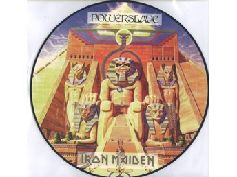 Bild LP Iron Maiden - Powerslave (UK Press)