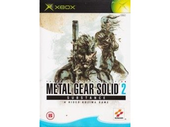 XBOX - Metal Gear Solid 2: Substance (Beg)