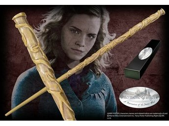 Harry Potter Hermione Trollstav Wand Noble Collection