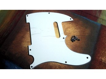 Repro Mint Green Pickguard Plektrumskydd Fender Telecaster Rock Blues Country