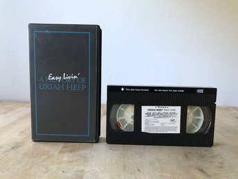 Easy Livin - A History of Uriah Heep - VHS