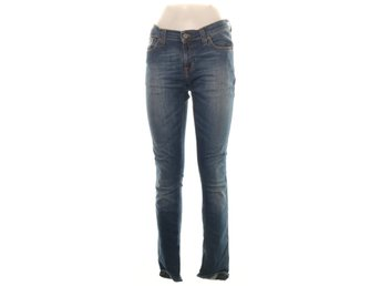 Nudie Jeans, Jeans, Strl: 27/34, Tight Long John, Mörkblå
