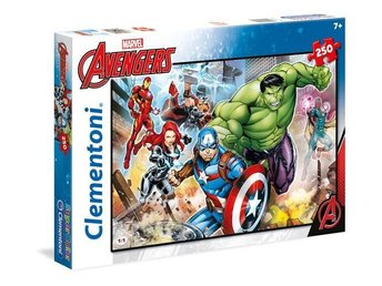 250 pcs. Puzzles Kids SuperColors THE AVENGERS