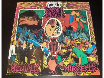 "Napalm Death ""Mentally murdered EP"" UK 1989"