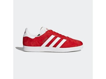 ADIDAS ORIGINALS GAZELLE SNEAKERS RED US5 37 1/3