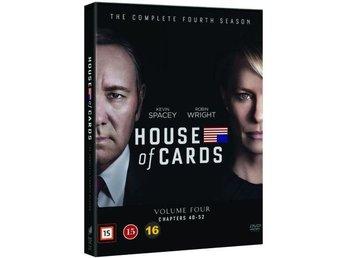 House of Cards - Säsong 4 (4 disc) - Täby - House of Cards - Säsong 4 (4 disc) - Täby
