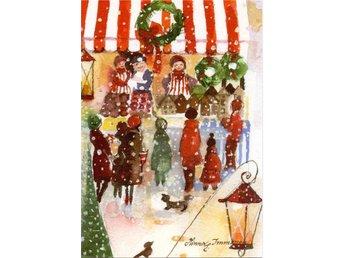 23. Julkort, 14,5 x 10 cm, av den finska konstnärinnan Minna Immonen - Nora - 23. Julkort, 14,5 x 10 cm, av den finska konstnärinnan Minna Immonen - Nora