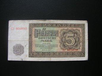 Tyskland 5 och 20 mark 1948, g5130.28 trdvbh - Estonia Estland - Tyskland 5 och 20 mark 1948, g5130.28 trdvbh - Estonia Estland