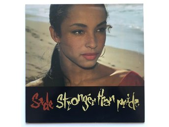 SADE Stronger Than Pride LP NL 1988