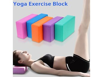 Yoga Block Träning Orange