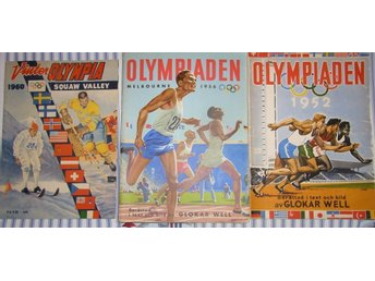 Olympiaden Squaw Valley 1960, Melbourne 1956, Helsingfors 1952