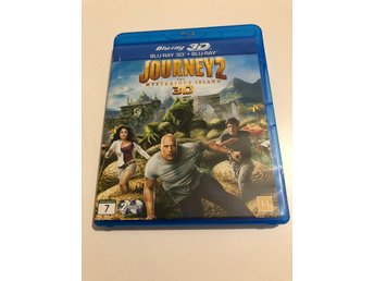 Journey 2 -The mysterious island - Sv. Text - Blu ray 3D