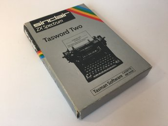 Tasword Two *TESTAD* - ZX Spectrum - 1984 - Psion