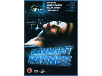 MIDNIGHT MATINEE (1990) - Ron White, Gillian Barber - DVD - OOP