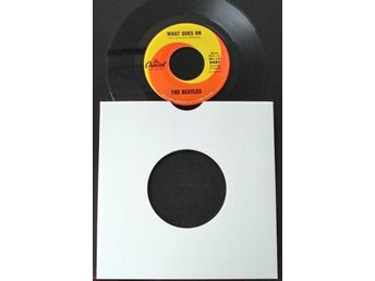 "7"" Beatles-What goes on/Nowhere man (Usa)"