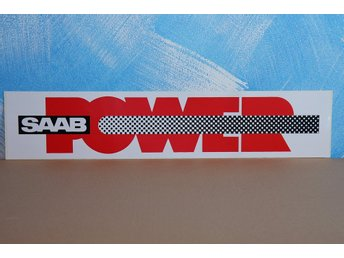 ORIGINAL SAAB DECAL - SAAB POWER