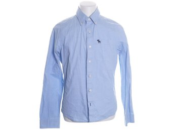 Abercrombie & Fitch, Buttondown-skjorta, Strl: L, Muscle, Blå