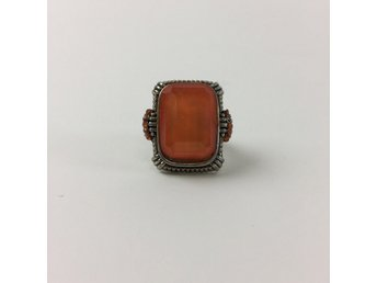 Ring, Guldfärgad/Orange