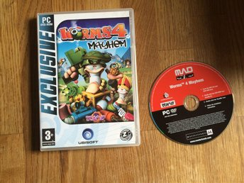 WORMS 4 MAYHEM PC-DVD-ROM UBISOFT