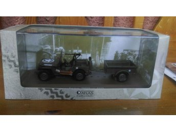 Jeep willys mb 1:43 Atlad Editions
