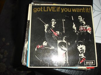 The Rolling Stones-Got live of you want it-singel