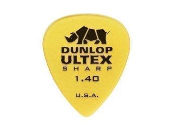 Dunlop Ultex Sharp 1.40 mm 10st Plektrum för gitarr - Nyköping - Dunlop Ultex Sharp 1.40 mm 10st Plektrum för gitarr - Nyköping
