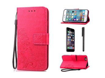 Embossed Clover Case - Iphone 6+ - Rosa