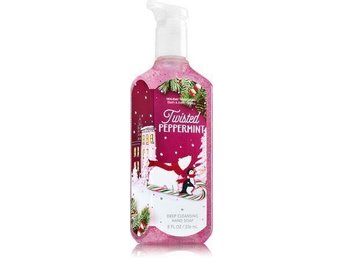 Bath & Body Works Deep Cleansing Handsoap TWISTED PEPPERMINT peeling doft USA