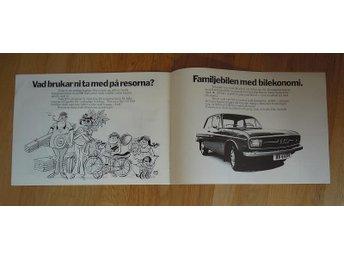 Audi 60 1973 försäljningsbroschyr - Lomma - Audi 60 1973 försäljningsbroschyr - Lomma